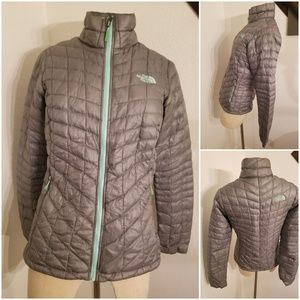 The North Face Thermoball Jacket XS Gray/Green